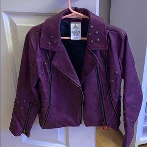 Faux leather jacket Disney's Descendants